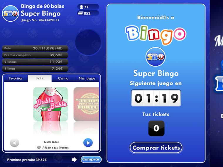 ¡Super Bingo en acción!